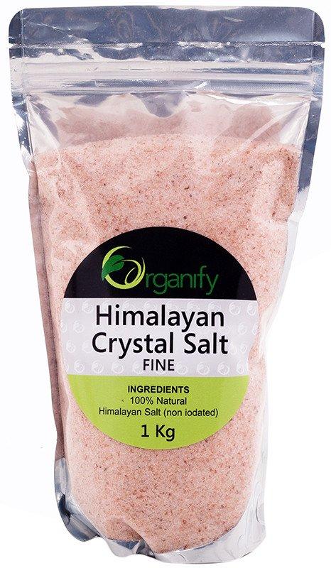 Organify Himalayan Crystal Salt Fine 1kg